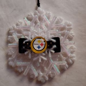 Pittsburgh Steelers Ornament NFL Football Duck